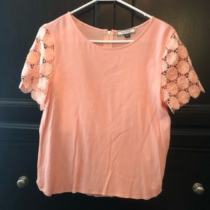 Eden Society crochet sleeve top from Stitch Fix
